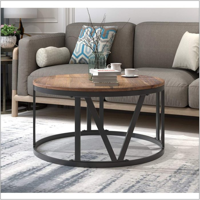 Living Room Round Coffee Table