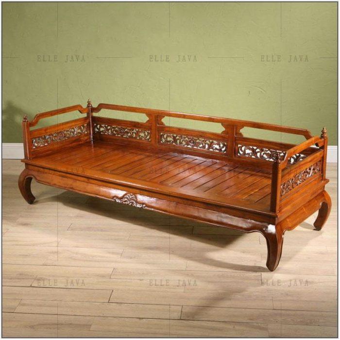 Living Room Wooden Bench